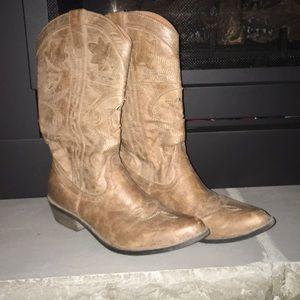 Women's Coconuts Cowboy Boots